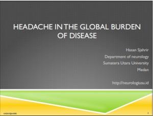 Burden of headache