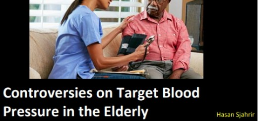 Target BP in elderly